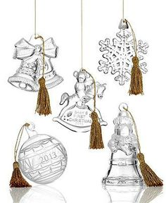 For the hostess who deserves more than a bottle of wine... an elegant Waterford ornament
