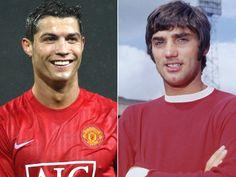 George Best e Cristiano Ronaldo