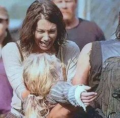 "Maggie is devastated. ^ right, she was sooooooooo devastated that she searched for days for Beth. wait. no, that was Glen. She searched for Glen. I'm not buying Maggie's ""pain"". I find Maggie barely tolerable. She should've died instead of Beth. Ugh. Getting tired of pointless characters!"