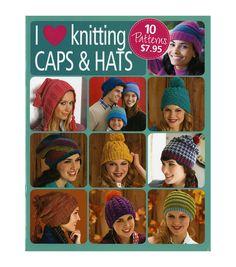 Caps, Hats & Beanies To Crochet Book