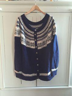 Pattern: Nancykofte from Sandnes Garn
