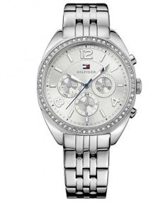 2ac28af7c74 Γυναικεία Ρολόγια   TOMMY HILFIGER Mia Multifunction Silver Dial Stainless  Steel 1781571 Bracelet Watch