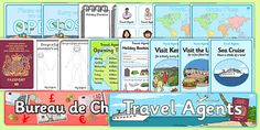 Why not use our great travel agent role play pack as a way of teaching children to communicate and use their creativity? They can learn about destinations around the world, brush up on their geography and making transactions too. Winter Travel, Holiday Travel, Airport Theme, Hotels For Kids, Role Play Areas, Programming For Kids, Kits For Kids, Holiday Themes, Dramatic Play