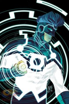 Justice League: Darkseid War - Green Lantern by Franci Manapul *
