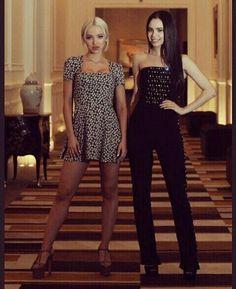 Dove Cameron & Sofia Carson in a photoshoot by La Nacion.