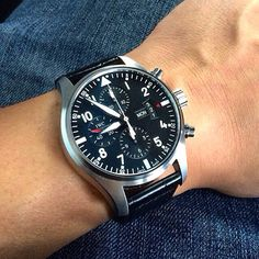 The IWC Pilot's Chronograph ref. 3777-01
