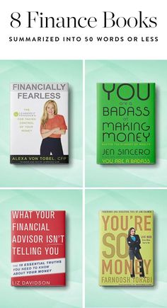 We cherry-picked the most genius takeaways from eight of our go-to finance books. Read on.