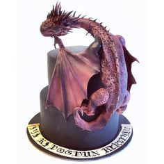 Dragon Cake by Deniz Ergün