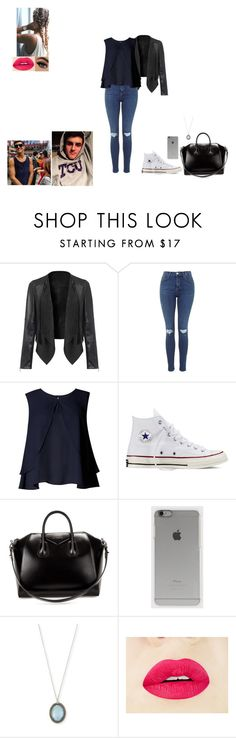 """""""day out with Jack G"""" by gabby-1606 on Polyvore featuring Limited Edition, Converse, Givenchy, Incase, Armenta, women's clothing, women's fashion, women, female and woman"""