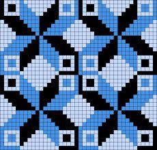 Artwork by at Grid Paint. Crochet Chart, Crochet Motif, Loom Beading, Beading Patterns, Cross Stitch Designs, Cross Stitch Patterns, Diy Art Projects Canvas, Perler Bead Emoji, Mochila Crochet