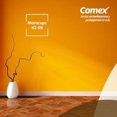 Tu hogar nunca si vio mejor… Prueba nuestro color #Maracuyá #ComexPinturerías #Decoración