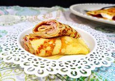 Ponto de Rebuçado Receitas: Crepes light de tapioca e queijo quark