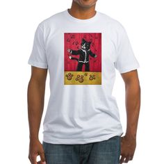 Opera Cat Men's Light Fitted T-Shirt  #gifts #awesome #CafePress #cats #paint #tuxedocat #opera #classic #colorful #classicmusic #singing #sing #song #tuxedo #musicnotes #tuxedojacket #stage #catlovers #catlife #catlady #cool #goodvibesonly #fun #funny #funnypics #funnycats #crazycatlady #art #toons #cartoonart #cartoon #catart #buyart #buy #buyable #onlineshopping #cutecats #cutepetclub #kitty #kittycat #animals #acryliccats #catsandme #cuteanimals #katzen #gatos #chat #gatti #neko
