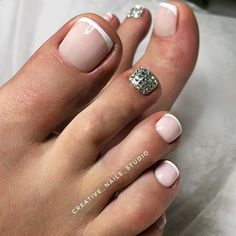 Super French Tip Toes Pedicures Classy Pedicure Classy 40 Ideas French Tip Toes, French Tip Pedicure, French Pedicure Designs, Glitter French Tips, Toe Nail Designs, French Nails, Art Designs, Pedicure Colors, Toe Nail Art
