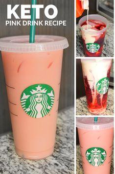 Keto Pink Drink Starbucks Copycat Recipe DIY at Home Keto Starbucks Keto Pink Drink Keto Drinks Pink Drink Low Carb Starbucks Starbucks at home starbucks recipe Starbucks Hacks, Low Calorie Starbucks Drinks, Starbucks Pink Drink Recipe, Pink Drink Recipes, Healthy Starbucks Drinks, Secret Starbucks Drinks, Low Calorie Drinks, Starbucks Recipes, Pink Drinks