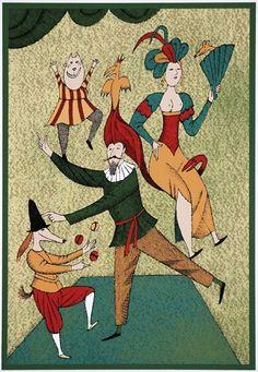 Úspěšná divadelní společnost © Adolf BORN, ArtForum / ICZ a.s. http://www.gallery.cz/gallery/cz/adolf-born-vystava.html