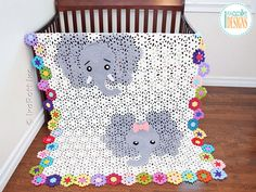 """PROMOTION: Spend $25.00 or more to get 20% off of your total purchase, USE COUPON --> PATTERNPACKSAVE20 CROCHET LEVEL: Intermediate SIZES: • Crib 42"""" X 42"""" (106.7 X 106.7 cm) • Toddler 42"""" X 56"""" (106.7 X 142.2 cm) • Throw 59"""" X 71"""" (149.9 X 180.3 cm) • Twin 65"""" X 85"""" (165 X 215.9 cm) FORMAT: PDF, 22 pages, 9.7 MB (mobile devices friendly). Language - English. The pattern is written row-by-row using US crochet terms. It also includes many diagrams, step-by-step photos, and a conversion c..."""