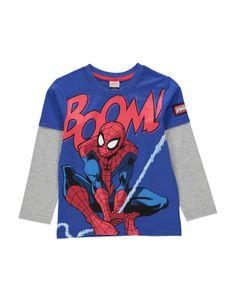 Spiderman 2 Layer Top   Boys   George at ASDA