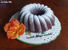 #Ciambella al doppio #cioccolato soffice! Cacao Amaro, Baking, Cake, Desserts, Food, Bread Making, Pie Cake, Tailgate Desserts, Pie