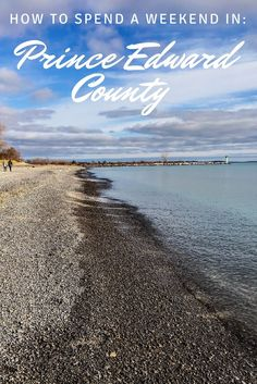Looking to escape Toronto? Check out the best itinerary for spending a weekend in Prince Edward County! Ontario Travel, Canada Destinations, Visit Canada, Prince Edward, Canada Travel, Central America, Cool Places To Visit, Trip Planning, Travel Inspiration