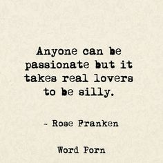 Real lovers - Rose Franken - quotes - Word porn