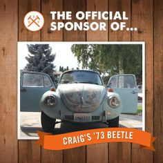 Dollar Shave Club - Google+ - DSC Member Craig is out to rebuild a 1973 Beetle, and…