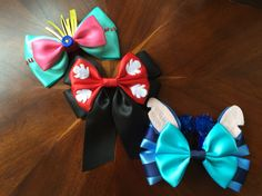 Disney's Scrump, Lilo, & Stitch  hair bow  Handmade by  @missmbowtique
