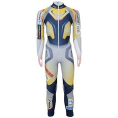 Phenix UNI Norway Team GS Racesuit - Golden Yellow Ski Racing, Ski Wear, Golden Yellow, Slim Fit, Uni, Norway, Wetsuit, Skiing, Thighs