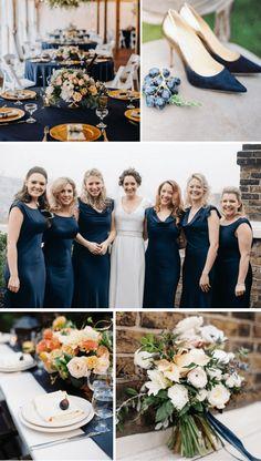 ΑΜΟΣ ΤΟ ΝΟΕΜΒΡΙΟ NAVY BLUE.Ταιριάξτε το navy blue με nude αποχρώσεις και θα έχετε ένα κομψό αποτέλεσμα. Bridesmaid Dresses, Wedding Dresses, Fashion, Bridesmade Dresses, Bride Dresses, Moda, Bridal Gowns, Fashion Styles, Weeding Dresses