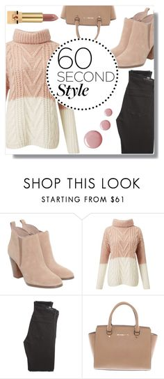 """Family dinner"" by dreamdesigner012 ❤ liked on Polyvore featuring Michael Kors, Miss Selfridge, Citizens of Humanity, Yves Saint Laurent, thanksgiving, polyvorecontest, familydinner and 60secondstyle"