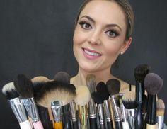 Funciones de las brochas o pinceles de Maquillaje (vídeo) #trucos #maquillaje