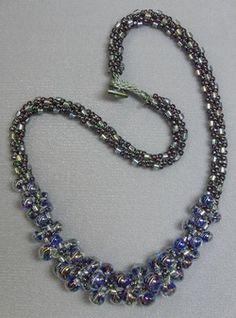 Kumihimo with Unicorne Beads