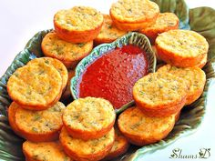 Savoury sweetcorn Cakes by ~Très Chic Cupcakes by ShamsD~, via Flickr