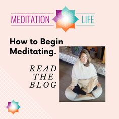 A simple way to finally give meditation a try. Hint: Take your time and go at your own pace. Meditation Practices, Simple Way, Stress, This Or That Questions, Reading, Blog, Life, Reading Books, Blogging
