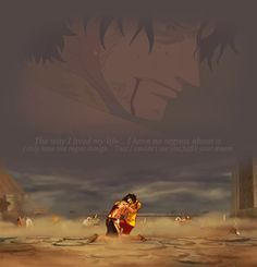 luffy and ace gif Ace One Piece, One Piece Gif, One Piece Comic, One Piece Tumblr, One Piece Quotes, One Piece World, One Piece Images, One Piece Fanart, One Piece Luffy