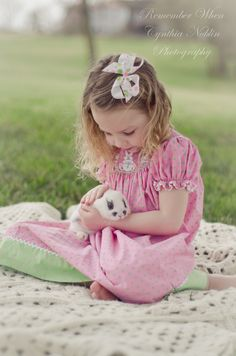 easter/spring child  photo