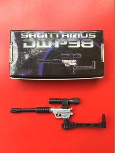 Dr.Wu DW-M04 Triple Barreled Rifle:Breakaway,versions D,black and optical red
