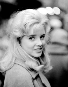 Sue Lyon in a promotional photo for Lolita, 1960.