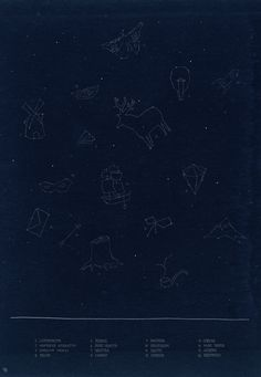 Idea- one child marks a black paper with 'stars' then swaps with a friend who must create and name new constellations