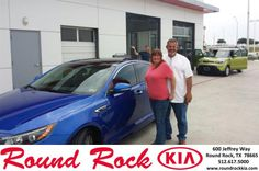 Congratulations to James Preston on your #Kia #Optima purchase from Greg  Galindo at Round Rock Kia! #NewCar