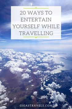 Travelling can be boring. There is so much time waiting around at airports and on planes. Here are 20 ways to keep yourself entertained while travelling. Long Haul, Airports, Planes, Travelling, Travel Tips, Waiting, Entertainment, Ideas, Airplanes