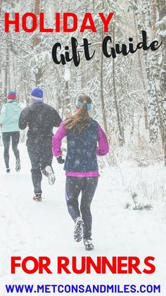 Looking for holiday gift for a special runner in your life? Here's all the best stocking stuffers, running gear recommendation, and running must have's for every budget. I included recommendations for running gear on amazon for easy shopping. So whether you're shopping for a lifelong runner, or a beginner runner, there's something on the list that every runner would love to find under the tree. #runninggear #holidaygiftguide