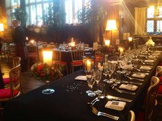 Wedding in The Great Hall of Adlington Hall