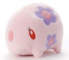 Pokemon Plush Doll Munna Somniam .shopper plastic bag With gifts #PokemonCenter