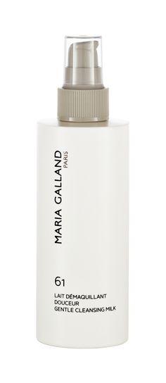 LAIT DÉMAQUILLANT  DOUCEUR 61 (200ml)  Für jede, selbst für sensible Haut die reinste Freude. Durch die leichte Textur in Verbindung mit milden Emulgatoren ist diese Reinigungsmilch sogar zum Entfernen von Augen-Makeup geeignet. Algenextrakte spenden Feuchtigkeit, Ringelblumenextrakte sorgen für Beruhigung und ein sanftes, streichelzartes Hautgefühl. http://www.best-kosmetik.de/marken/maria-galland/trockene-haut/Lait-D-maquillant-Douceur-61.html