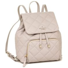- Perfect Fall Neutral – Jessa Quilted Leather Small Backpack Details about NWT Kate Spade Emerson Place Jessa Quilted Leather Small Backpack in Crisp Linen Small Backpack, Backpack Bags, Leather Backpack, Kate Spade Backpack, Designer Backpack Purse, Emerson, Fashion Bags, Fashion Backpack, Runway Fashion