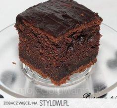 Ekspresowe ciasto czekoladowe Polish Recipes, Polish Food, Brownies, Chocolate, Cake, Pie Cake, Pie, Schokolade, Cakes
