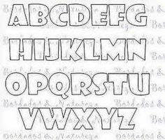 molde de letras coloridas - Pesquisa Google