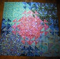 Quilting : Shimmering Triangles