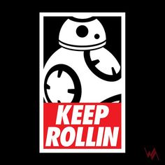 Liitle fun with #parody of #obey , #bb8 and #limpbizkit - #tshirt #t-shirt #design #illustration #funny #starwars #star_wars